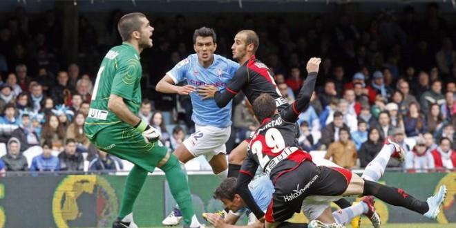 FÚTBOL: Liga BBVA. Rayo Vallecano – Celta de Vigo. (05/04/14)