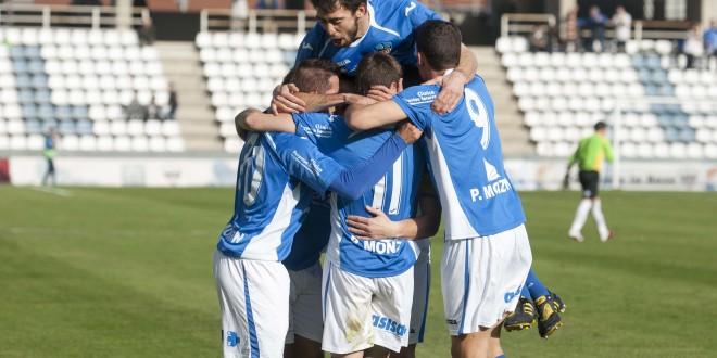 FÚTBOL: 2ª división B (grupo 3). Lleida Esportiu – Ontinyent CF. (06/04/14)