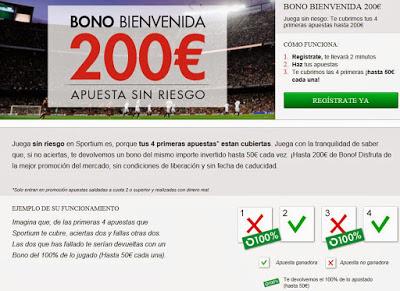 SI TE REGISTRAS DESDE EL PENSADOR, TODAVÍA PUEDES CONSEGUIR EL BONO DE 200€ EN SPORTIUM!!!