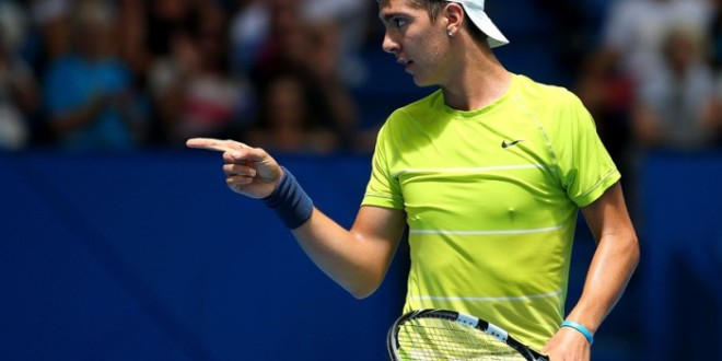 TENIS: ATP Shenzhen. Combinada Kokkinakis + Muller (23/09/14)