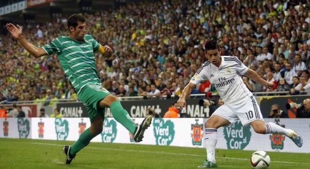 FÚTBOL: Copa del Rey. Real Madrid – Cornellà / Granada – Córdoba (2 y 3/12/14)