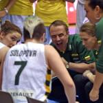 Mantas Sernius, seleccionador de Lituania femenino