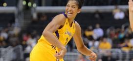 Candace Parker, jugadora de LA Sparks