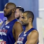 Diaw, Tony Parker y Fournier, jugadores claves de Francia.