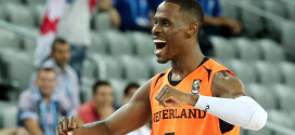 Charlon Kloof, jugador holandés de baloncesto