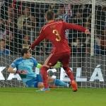Iker Casillas no tuvo su noche en Bratislava
