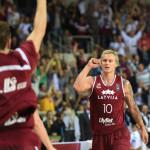 Janis Timma, jugador letón de baloncesto