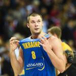 Kyrylo Fesenko, jugador de Ucrania