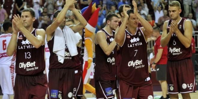 Resultado de imagen de seleccion letonia baloncesto