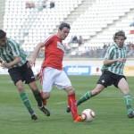 imagen el encuentro entre Murcia y Betis B de la pasada temporada