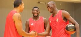 Akpomedah, Shuler y Sy, jugadores del Monaco