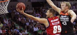 Stevan Jelovac, jugador del CAI Zaragoza