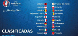 Selecciones clasificadas Eurocopa 2016