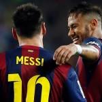 Messi y Neymar, una dupla con mucho gol