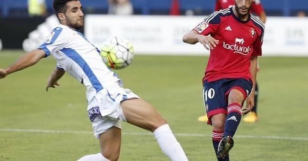 Roberto Torres, máximo goleador en liga por parte de Osasuna