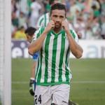 Rubén Castro. la insignia del Betis
