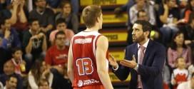 Ibon Navarro, entrenador del Manresa