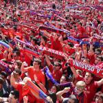 Osasuna contará con mucho apoyo en las gradas de El Alcoraz