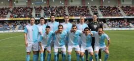11 del Compostela en Pasarón
