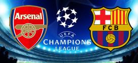 Arsenal y Barcelona se enfrentarán en los octavos de final de la Champions League
