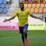 Güiza, con 7 goles, es el máximo goleador del Cádiz en liga