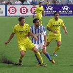 Imagen del partido de ida entre Baleares y Villarreal B
