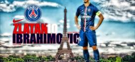 Zlatan Ibrahimoivc PSG