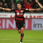 Chicharito, máximo goleador del Bayer Leverkusen esta temporada