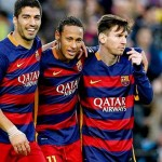 Messi, Neymar y Suarez no anotaron contra el Real Madrid