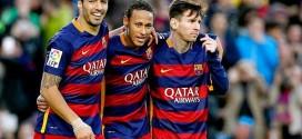 Messi, Neymar y Suarez no anotaron contra el Real Madrid