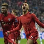 Thiago le dio la clasificacion al Bayern