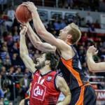 Justin Hamilton, jugador del Valencia Basket