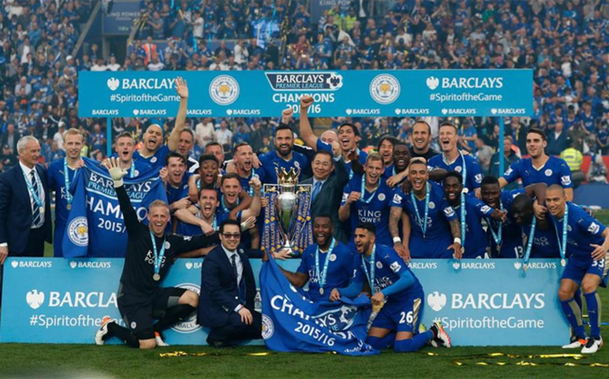 Leicester City Premier League Champion