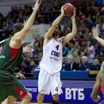 Milos Teodosic, jugador del CSKA