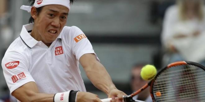 Roland Garros: Kei Nishikori vs Andrey Kuznetsov