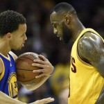 Curry y LeBron James