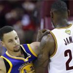 Curry y LeBron en las Finales 2016