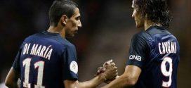 Cavani y Di María, dos de las estrellas del PSG