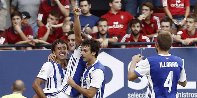 Liga Santander: Real Sociedad – Osasuna