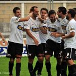 romo celebra un gol