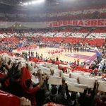 El pabellón de Estrella Roja de Belgrado