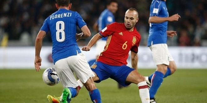 Clasificación Mundial 2018: Italia – Albania