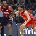 Baskonia y Valencia juegan en la jornada 23 de la Liga Endesa