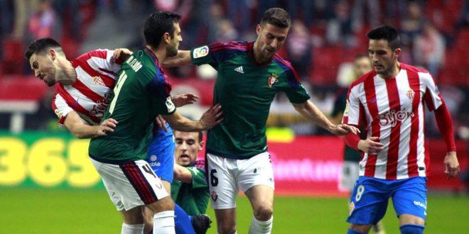 Liga Santander: Osasuna – Sporting de Gijón