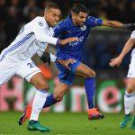 Copenhagen enfrentándose Leicester