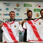 Velillas y Óscar Sierra son 2 de las caras nuevas del Hospi esta temporada (Foto: futbolcatalunya.com)