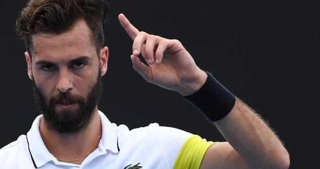 ATP 250 Metz: Benoit Paire vs David Goffin