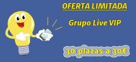 Grupo Live VIP - Oferta limitada