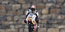 Tatsuki Suzuki pilotando en el GP de Aragón