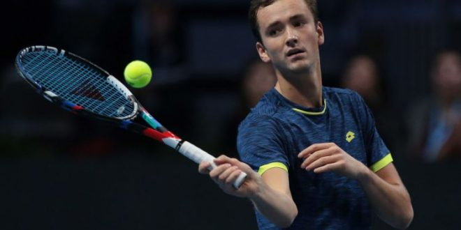 ATP Next Gen Finals Milan: Jared Donaldson vs Daniil Medvedev